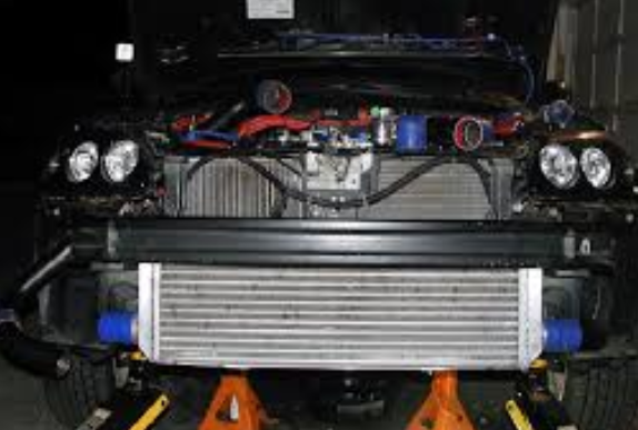 the intercooler